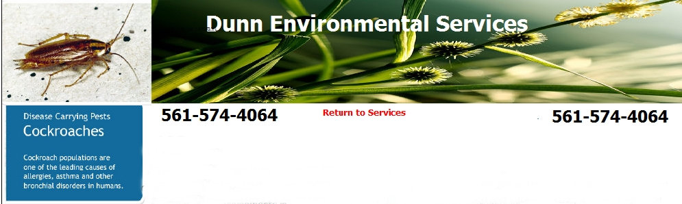 pest control - dunn environmental services